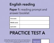 TheSchoolRun KS1 SATs English practice test A