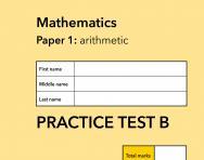 TheSchoolRun KS1 SATs maths practice paper B