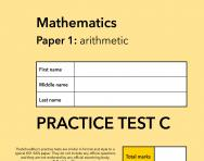 TheSchoolRun KS1 SATs maths practice paper C