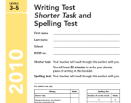 Key Stage 2 - 2010 English SATs papers