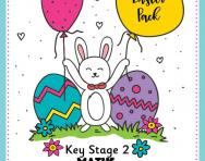 KS2 Easter activities pack cover