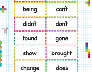 KS2 high frequency words