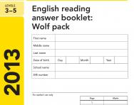 Key Stage 2 - 2013 English SATs Papers