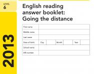 Key Stage 2 - 2013 LEVEL 6 English SATs Papers