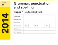 Key Stage 2 - 2014 LEVEL 6 English SATs Papers