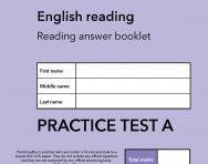 TheSchoolRun KS2 SATs English practice test A