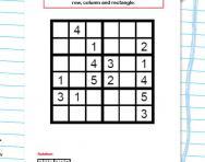 KS2 Sudoku puzzle