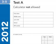 KS2 Maths SATs 2012 past papers