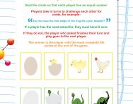 Life cycles card game