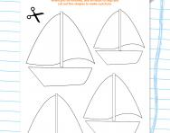 Make a handwriting collage worksheet