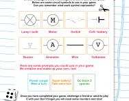 Make your own circuits game