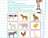 Make your own farmyard sounds game