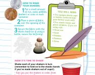 Make your own sound shakers