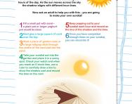 Make your own sundial
