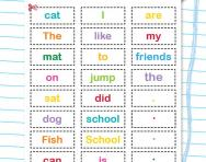 Making sentences activity