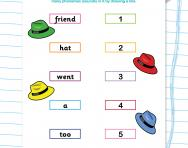 Match the number of phonemes