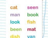 Matching rhyming words worksheet