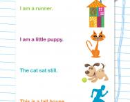 Matching simple sentences
