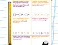Measurement problems worksheet