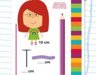 Measuring length in centimetres worksheet