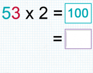 Multiplying a two digit number by a one digit number tutorial