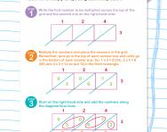 Multiplying three-digit numbers with lattice multiplication worksheet