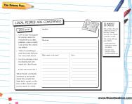 Newspaper report writing worksheet