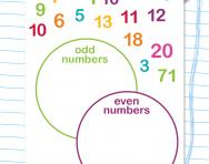 Odd or even numbers worksheet
