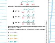math worksheet : partitioning explained for primary school parents  theschoolrun : Subtracting Tens And Units Worksheets