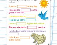 Fill-the-gap: /oa/ /oe/ /ie/ /igh/ /y/ /er/ /ir/ /ur/ sounds (Phase 5 phonics)