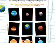 Planet facts worksheet