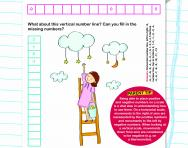 Positive and negative numbers on a scale worksheet