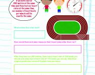 Predictions and conclusions: keeping healthy worksheet