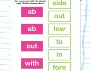 Preposition split
