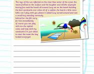 Punctuating a paragraph worksheet