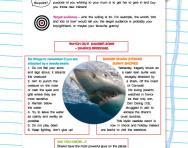 Understanding text: purpose and target audience worksheet
