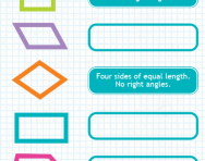 Naming quadrilaterals tutorials