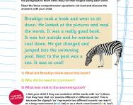 Reading comprehension: the /oo/ and /oo/ sound (Phase 3 phonics)