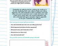 Reading comprehension: Cinderella