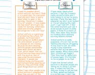 Reading comprehension: school uniform pros and cons