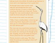 Reading comprehension: THE FOX AND THE CRANE