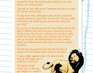 Reading comprehension: THE LION AND THE FLY