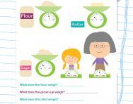 Reading scales worksheet
