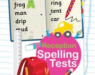 Reception spelling tests pack