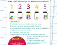 Recognising numbers 1-5