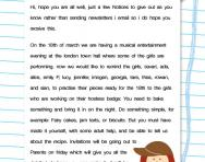 Revising capital letters and full stops worksheet