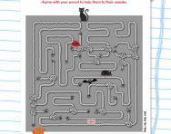 Rhyming maze