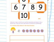 Roll a number and draw it worksheet