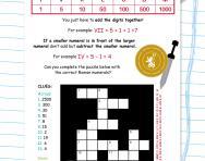 Roman numerals puzzle