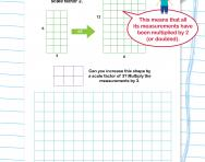 Shapes and scale factors worksheet